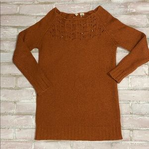 Moth Anthropology open knit sweater
